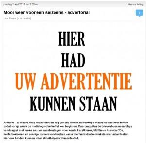 advertentie